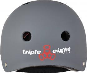 Triple Eight Certified Sweatsaver Skater Bukósisak - Carbon Rubber