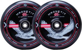 Striker Bgseakk Magnetit Freestyle Roller Kerekek 2 darabos csom -Fekete