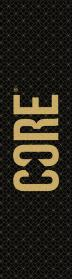 CORE Classic Freestyle Roller Griptape - Grid Gold