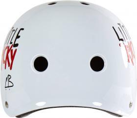 Triple Eight Little Tricky Kids Skateboard Helmet - Fehér