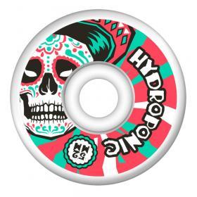 Hydroponic Mexican Skull 2.0 Gördeszka Kerék 52mm - Fehér/Piros