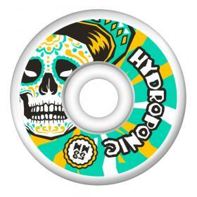 Hydroponic Mexican Skull 2.0 Gördeszka Kerék 53mm - Fehér/Zöld
